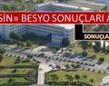 Mersin Üniversitesi Besyo Sonuçları 2015 ( tümü )