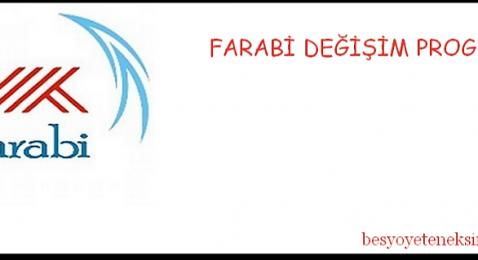 Farabi Öğrenci Değişim Programı