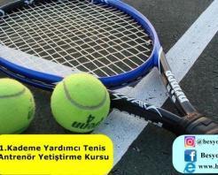 1.Kademe Yardımcı Tenis Antrenör Yetiştirme Kursu 2018