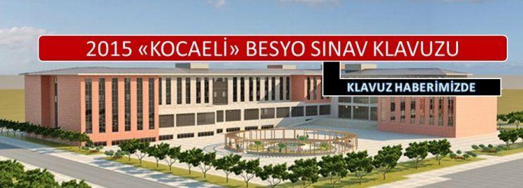 Kocaeli Üniversitesi Besyo Sınavı 2015