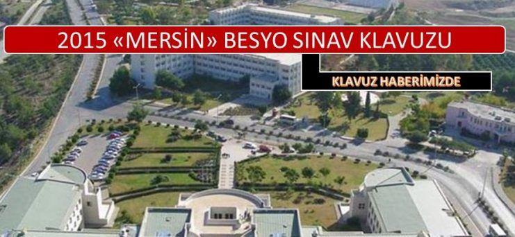 Mersin Üniversitesi Besyo Sınavı 2015