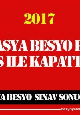 Amasya Üniversitesi Besyo Kaç YGS İle Kapattı 2017