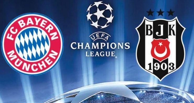 Bayern Münih – Beşiktaş maçı TRT1'de