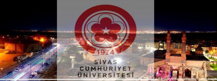 Sivas Cumhuriyet Üniversitesi Besyo Yetenek Sınavı 2016