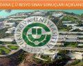 Adana Çukurova Besyo Sınav Sonuçları 2015