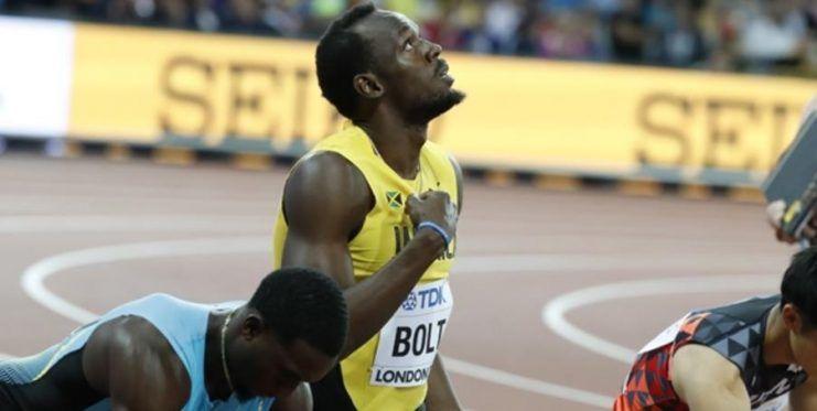 Usain Bolt Bu Sefer Kaybetti