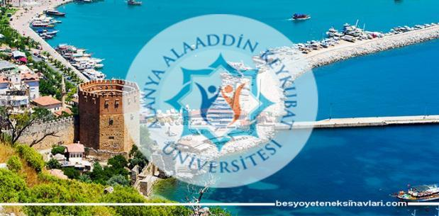 Alanya Alaaddin Keykubat Üniversitesi Besyo Yetenek Sınav Sonuçları 2017