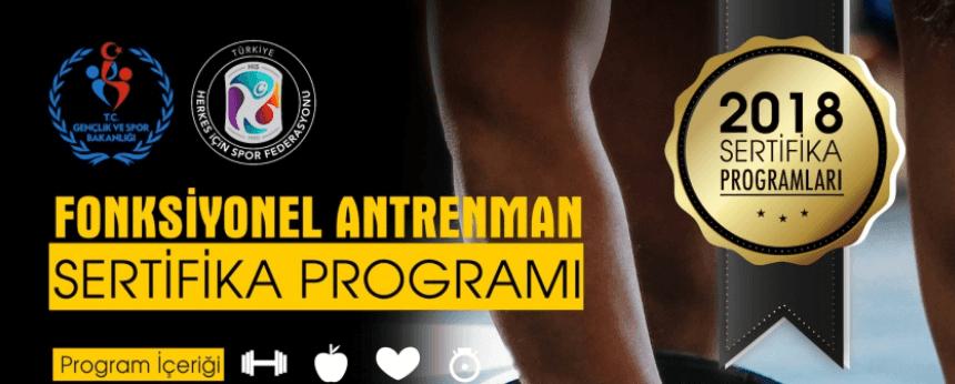 İzmir'de Fonksyonel Antrenman Sertifika Programı Açılacaktır