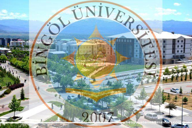 Bingöl Üniversitesi Besyo Yetenek Sınavı 2017