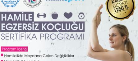 Hamile Egzersiz Koçluğu Sertifika Programı Açılacaktır