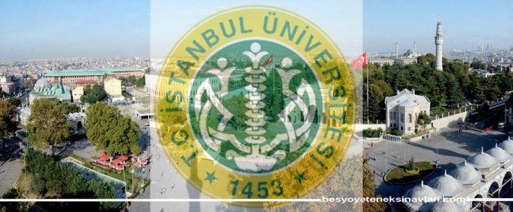 İstanbul Üniversitesi Spor Bilimleri Yetenek Sınavı 2017