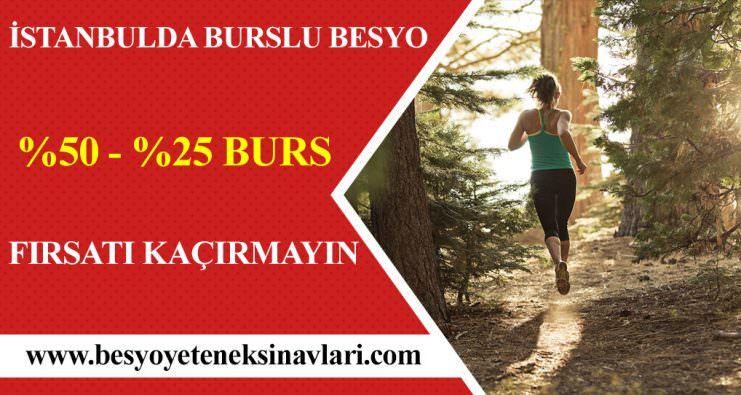 İstanbul'daki Özel Üniversitelerde  % 50 ve % 25 Besyo Burslu Kazanma Fırsatı Sayfamız Güvencesiyle