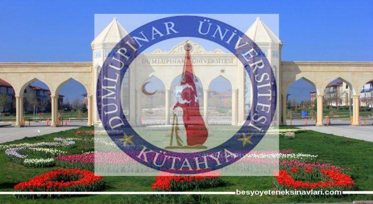 Kütahya Dumlupınar Üniversitesi 2018 Besyo Duyurusu