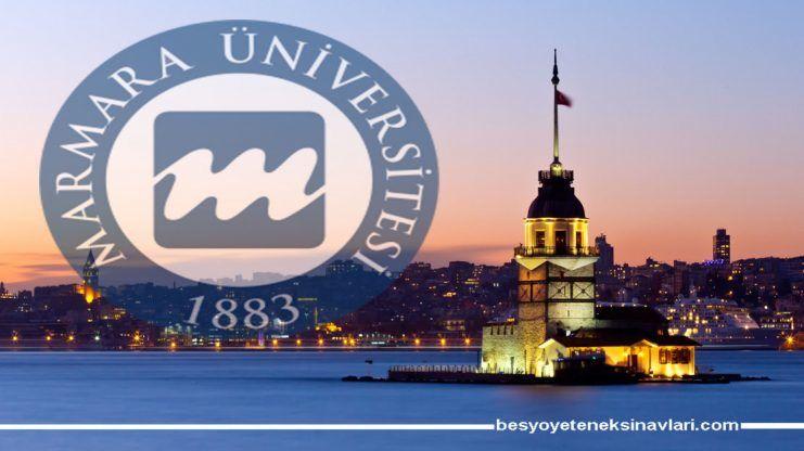 İstanbul Marmara Üniversitesi Besyo Yetenek Sınav Sonuçları 2017