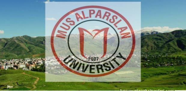 Muş Alparslan Üniversitesi Besyo Yetenek Sınav Sonuçları 2017