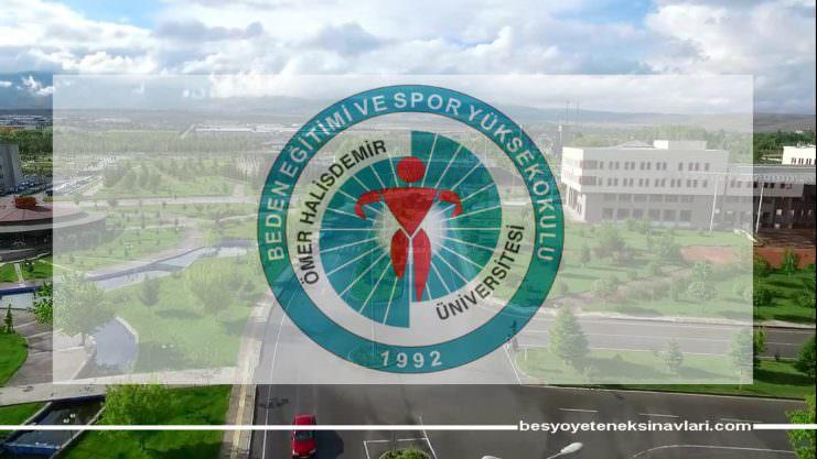 Niğde Ömer Halisdemir Üniversitesi 2018 Besyo Kılavuzunu Açıkladı