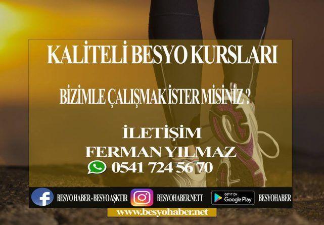 BESYO HAZIRLIK KURSLARININ DİKKATİNE!