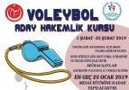 Eskişehir'de Voleybol Hakemliği Kursu Açılacaktır