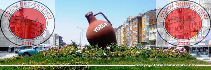 Yozgat Bozok Üniversitesi Besyo Yetenek Sınavı 2017